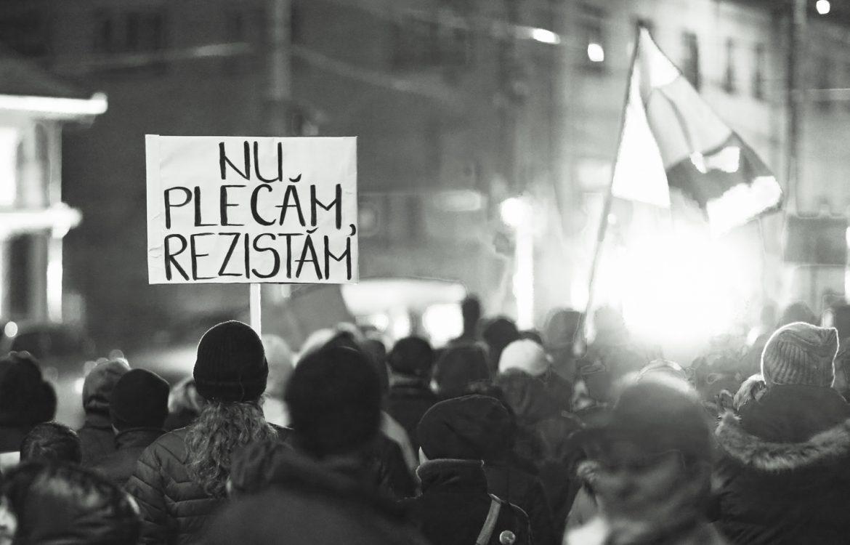 BW Proteste Mediaș